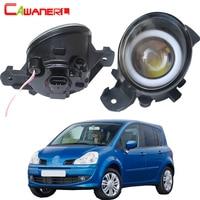 Cawanerl For Renault Grand Modus 2004 2013 Car H11 LED Fog Light Bulb Angel Eye Daytime Running Light DRL 3000LM 12V 2 Pieces
