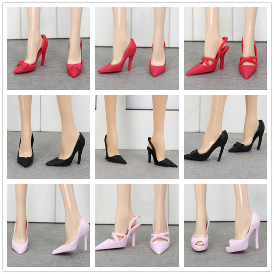 Original Fashion High Heels Shoes / Collective Edition Doll Shoes / Doll Accessories For 1/6 FR ST Xinyi Barbie Doll
