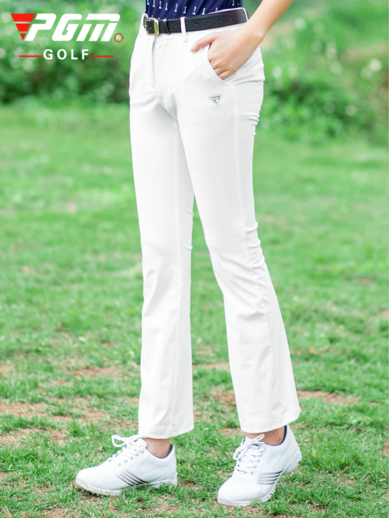 PGM 2020 New Golf Women's Pants Spring Summer Capri-Pants Slim Pants Elastic Horn Outdoor Trousers KUZ067