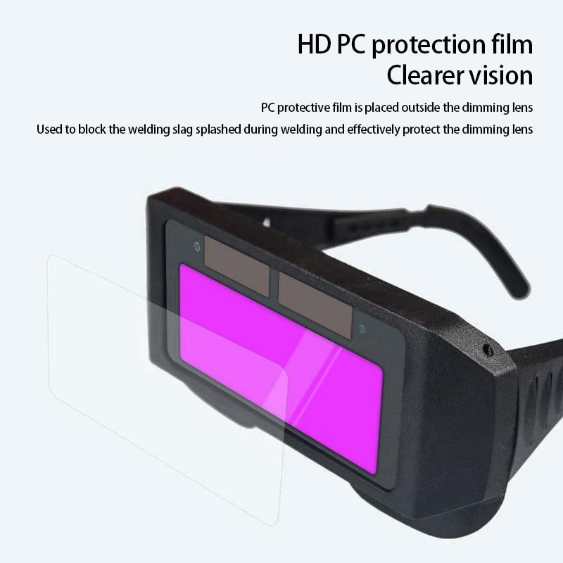 óculos máscara olhos protetor soldador boné óculos máquina máscara de solda