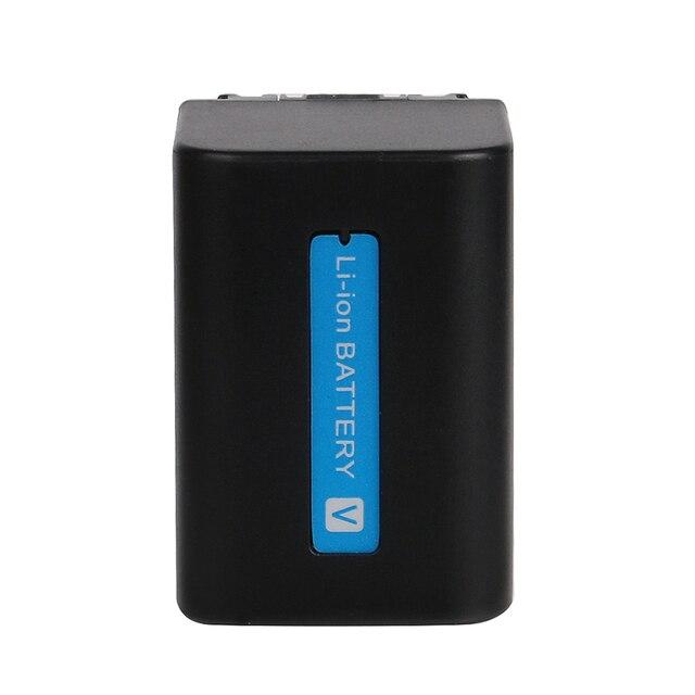OHD oryginalna bateria o dużej pojemności NP-FV70 NP FV70 dla Sony HDR-CX230 HDR-CX150E HDR-CX170 CX300