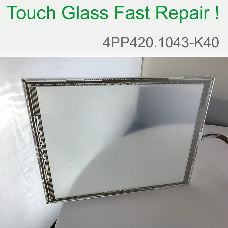 B&R 4PP420.1043-K40 Touch Screen Glass for Operator's Panel repair~do it yourself, Have in stock