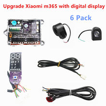 Controller 6-Piece Electric Scooter Accessories for Xiaomi M365 Scooter Upgrade Digital Display Pro