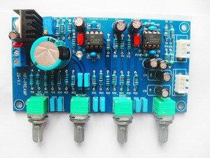 Image 1 - DC 12V 24V OPA2604 OPAMP Stereo Preamp ön amplifikatör ses tonu kontrol panosu amplifikatör kurulu için hoparlör