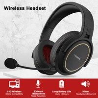 XIBERIA-auriculares inalámbricos G01/G02 para videojuegos, cascos con cable de 2,4mm y AUX-IN Supergraves para música estéreo, para teléfono y PC, 3,5 GHz