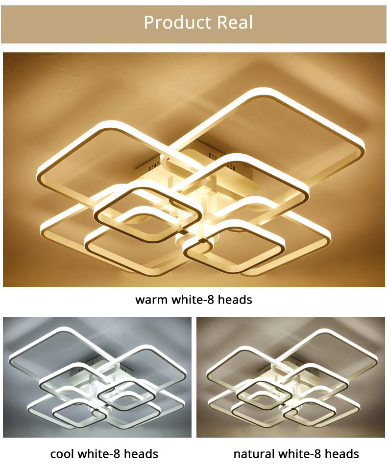H57a5c3fe37c946bfa63f6a4b4fc359d5Q Square Circel Rings Ceiling Lights For Living Room Bedroom Home Modern Led Ceiling Lamp Fixtures lustre plafonnier dropshipping