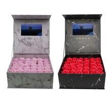 Boîte vidéo à couverture rigide de plusieurs couleurs, Production personnalisée, cartes de vœux universelles vierges de 7 pouces de 2 à 4 go pour la publicité et les cadeaux