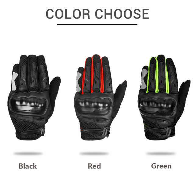 IRON JIA'S Summer Motorcycle Gloves Men Touch Screen Breathable Motobike Riding Moto Protective Gear Motorbike Motocross Gloves 3