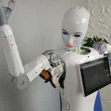 Робот развивающий проект умный аэропорт приветственный робот приемный сервис-ориентированный голосовой приветственный робот