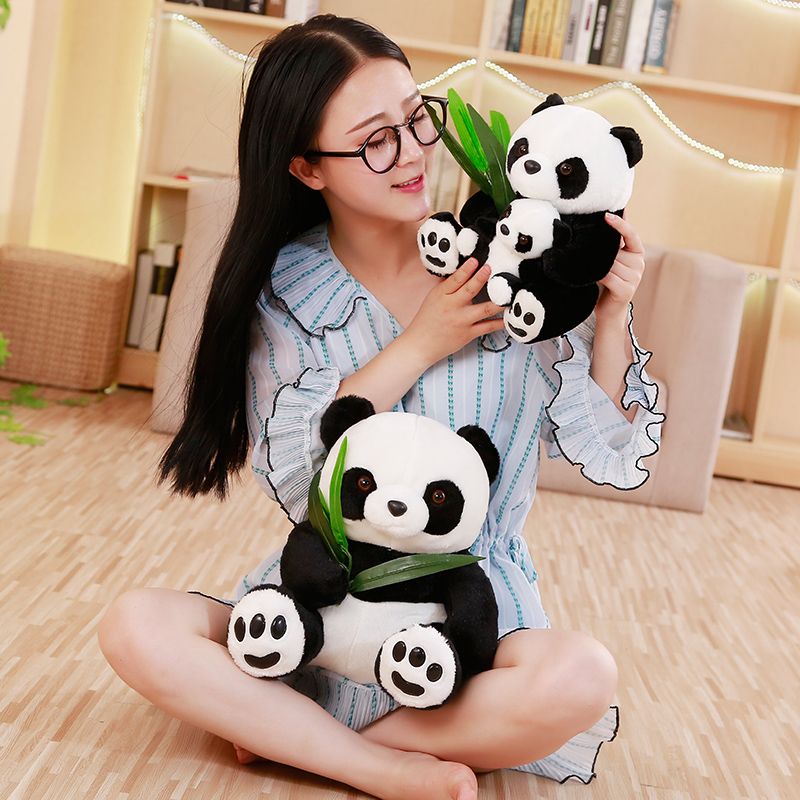 Large Size Panda Doll Plush Toy Baby Bear Pillow Panda Cloth Doll Kids Toys Baby Birthday Gift For Children Just6F