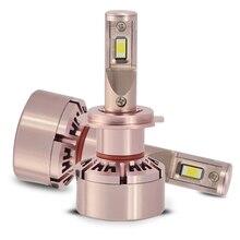 H7 Car LED Headllight 40W 6000K 3200LM Ultra Bright Lamp Bulb 2Pcs Headlamp Kit 12V Auto Fog Light Single