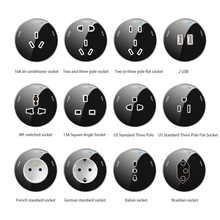 Herepow Track Sockets EU Standard UK Standard Socket Universal Sockets Power Sockets Replaceable High-end Quality