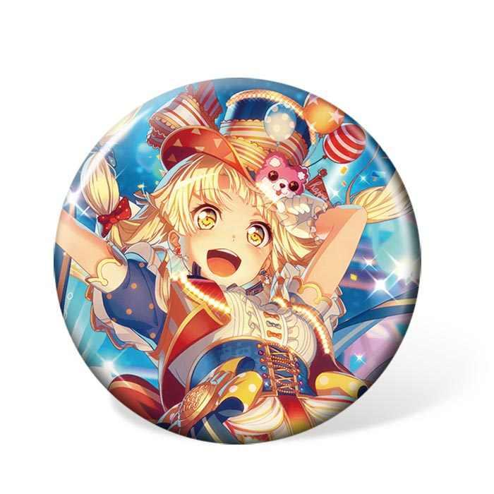 1PC Anime BanG rêve dessin animé Badge Toyama Kasumi broche broche pour sac à dos et sac accessoires