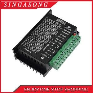 Free Shipping Stepper Motor Driver TB6600 Nema 23 Nema 34 42/57/86 Nema17 4A DC9-40V 1 axis Stepping Motor CNC Engraving Machine(China)