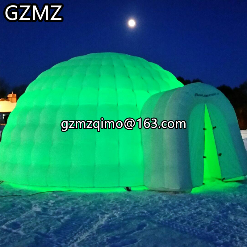MZQM Giant Inflatable Dome Tents Large Inflatable Igloo Tent Party Tents For Events,inflatable Sphere Dome Tent
