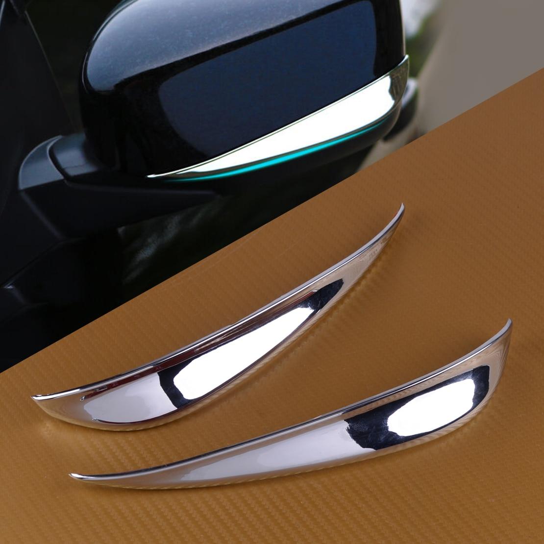 For 2011 2012 2013 2014 2015 2016 2017 Honda Crosstour Chrome Mirror Cover