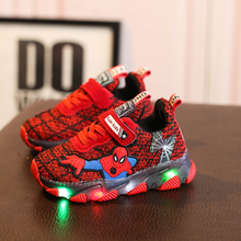 kids shoes led luminous Kids Boys Sneakers Children Glowing Kids Shoe tennis infant baby light boys Girls Shoe With LED 2017 new baby kids 7 color led light sneakers girls boys usb charge luminous shoe children sports running shoes size 25 37