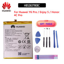 Huawei Оригинал 4000 мАч hb526379ebc батарея huawei y6 pro enjoy