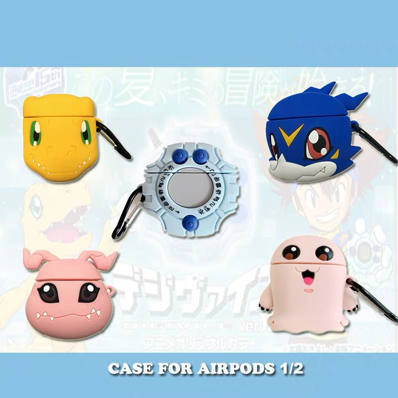 3D Cute Earphone Case for Airpods 2 Case Anime Cat Silicone boys Headphone Protector Cover for Apple Air pods For Earpods Case