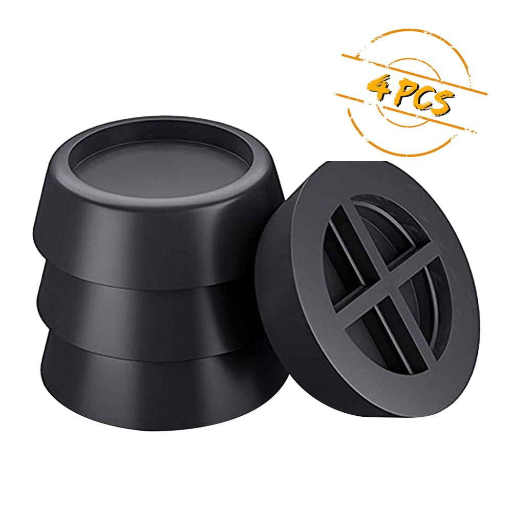 Anti-vibration Pads Washer Noise Reducing Shake Free Slip Mats Reducing Refrigerator Sponge Round Refrigerator Mute Mat