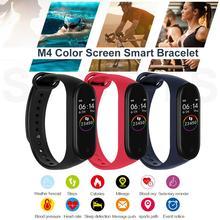 Most Pratical M4 Smartband Waterproof Heart Rate Blood Pressure Sleep Monitoring Vibration Sports Watch For Smart Bracelet