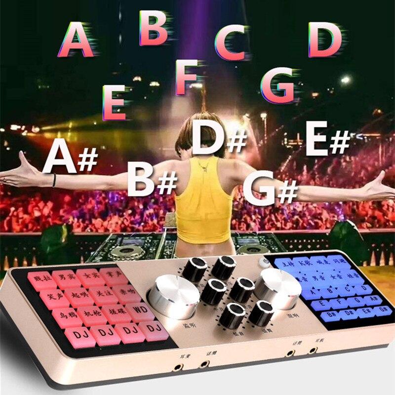 Компьютер планшет bobile телефон звуковая карта живое оборудование звуковой процессор аудио эффекты этап K песня изменение голоса якорь 2 кана