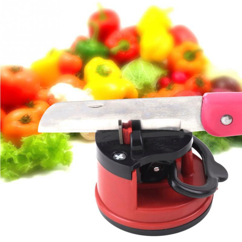 Durable Amazing Suction Knife Sharpener Sharpening Tool Easy And Safe To Sharpens Kitchen Chef Knives Damascus Knives Sharpener