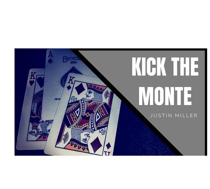 KICK THE MONTE By Justin Miller Magic Tricks