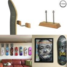 Gancho de skate deck | longboard deck flutuante exibição de parede de montagem de skate cabide | fácil instalação e uso