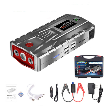 12V 800A Car Jump Starter 21000mAh Power Bank for Smartphone iPad Tablet Portable Charger For Petrol Diesel Car Battery Booster image