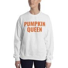 pumpkin sweatshirt women halloween printed hoodie womens hoodies pullover gothic print vintage cotton black clothes oversized