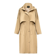 Classic Hooded Coat Womens Long Autumn 2019 New Casual Women