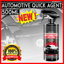 500ML Automotive Ceramic Nano Coating Liquid Coatin Nano Hydrophobic Layer Polishing Paint Coating Agent Car polish Nano Coating
