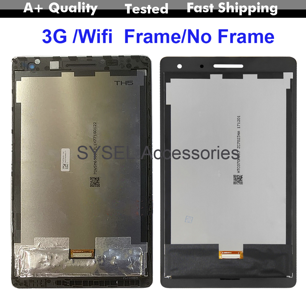 AAA Tested For Huawei-Mediapad T3 7.0'' Lcd T3 BG2-W09 BG2-U01 BG2-U03 Lcd Display Touch Screen Digitizer Assembly For Huawei T3