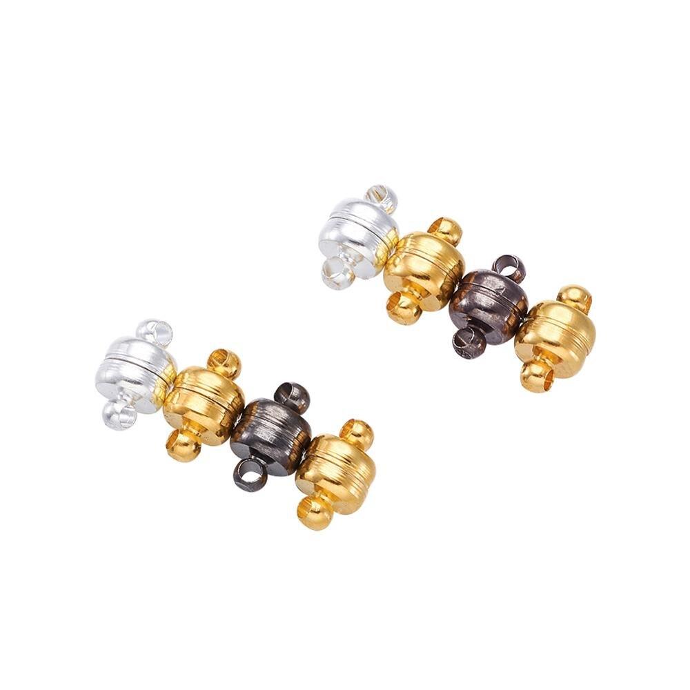 5 комплектов магнитные застежки крючки ювелирные колпачки ожерелья