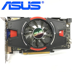 ASUS Graphics Card GTX 550 Ti 1GB 192Bit GDDR5 Video Cards for nVIDIA Geforce GTX 550Ti Used VGA Cards Equivalent GTX650