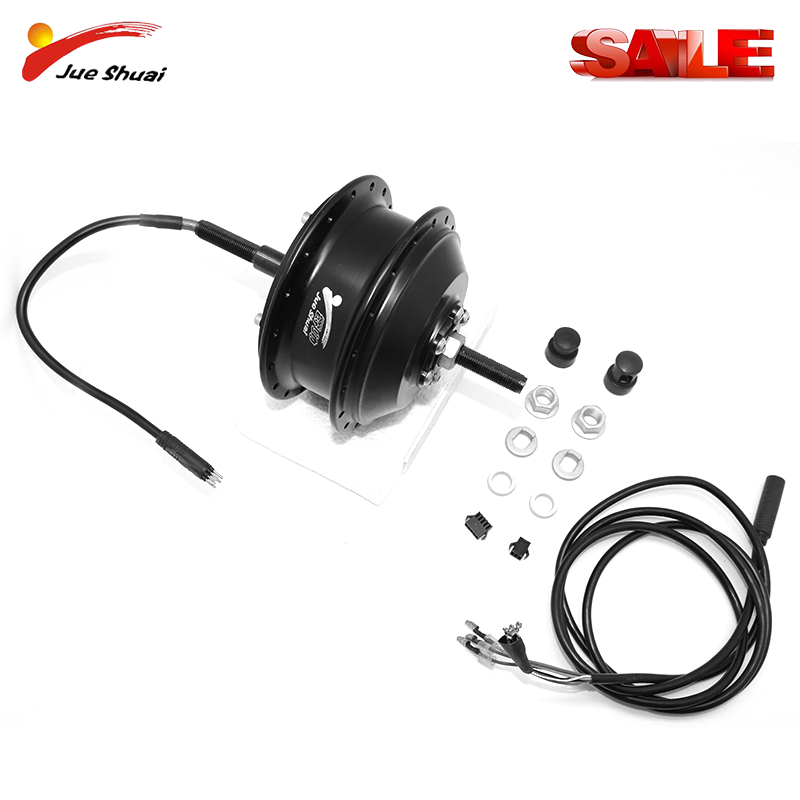 36V 250W/350W/500W Electric Bike Front Rear Wheel Brushless Gear Hub Motor Electric Bicycle Conversion Kit for 20inch-29inch