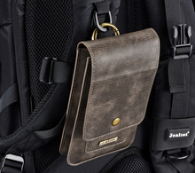 PU deri telefonu çanta kılıfı için Iphone X 11 Pro Samsung S8 S9 S10 Note9 kart yuvası cüzdan bel kemer klipsi tutucu kılıf