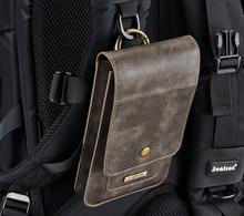 Étui en cuir pour téléphone portable pour Iphone X 11 Pro pour Samsung S8 S9 S10 Note9 fente pour carte portefeuille taille ceinture pince support étui