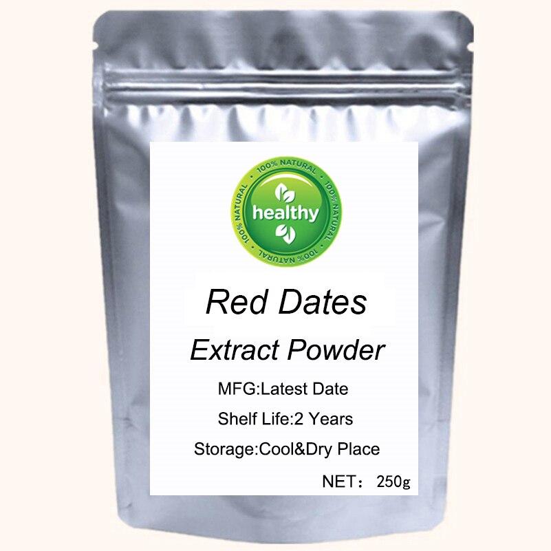 Zizyphus Jujuba фруктовый экстракт порошок органический красный экстракт даты