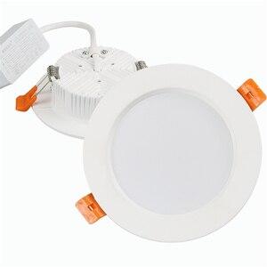 Image 5 - Đèn LED Âm Trần Downlight 3W 5W 7W 9W 12W 15W 18W 24W 30W AC 220V Không Thấm Nước Đèn Ốp Trần Trắng Ấm Lạnh Trắng Đèn Led Chiếu Điểm