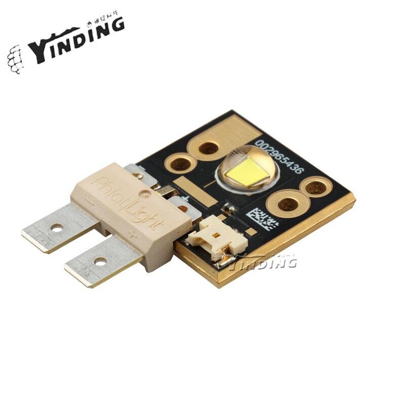 1 шт., Luminus CST90, CST 90, нейтральный белый, 4500 к, 50 Вт, высокая мощность, светодиодный излучатель, световая лампа, чип - 2