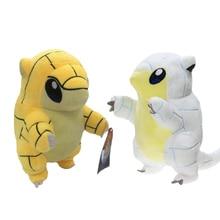 Alola Region First edition Sandshrew plush cute yellow pangolin doll toys Anime animal Sandslash soft for Children gift
