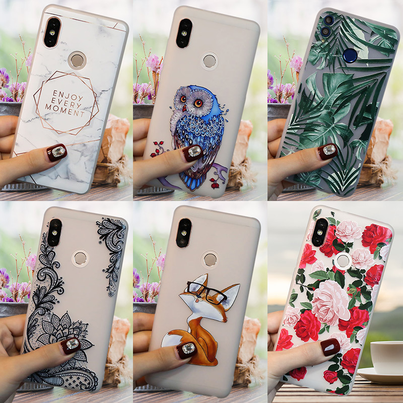 <font><b>3D</b></font> Relief <font><b>Redmi</b></font> 7A Case FOR <font><b>Xiaomi</b></font> <font><b>Redmi</b></font> Note 8 PRO 8T 8 T 7 6 PRO 5 Plus 5A Prime 4X 4 6A <font><b>4A</b></font> 8A Phone Back Cover Silicon Funda image