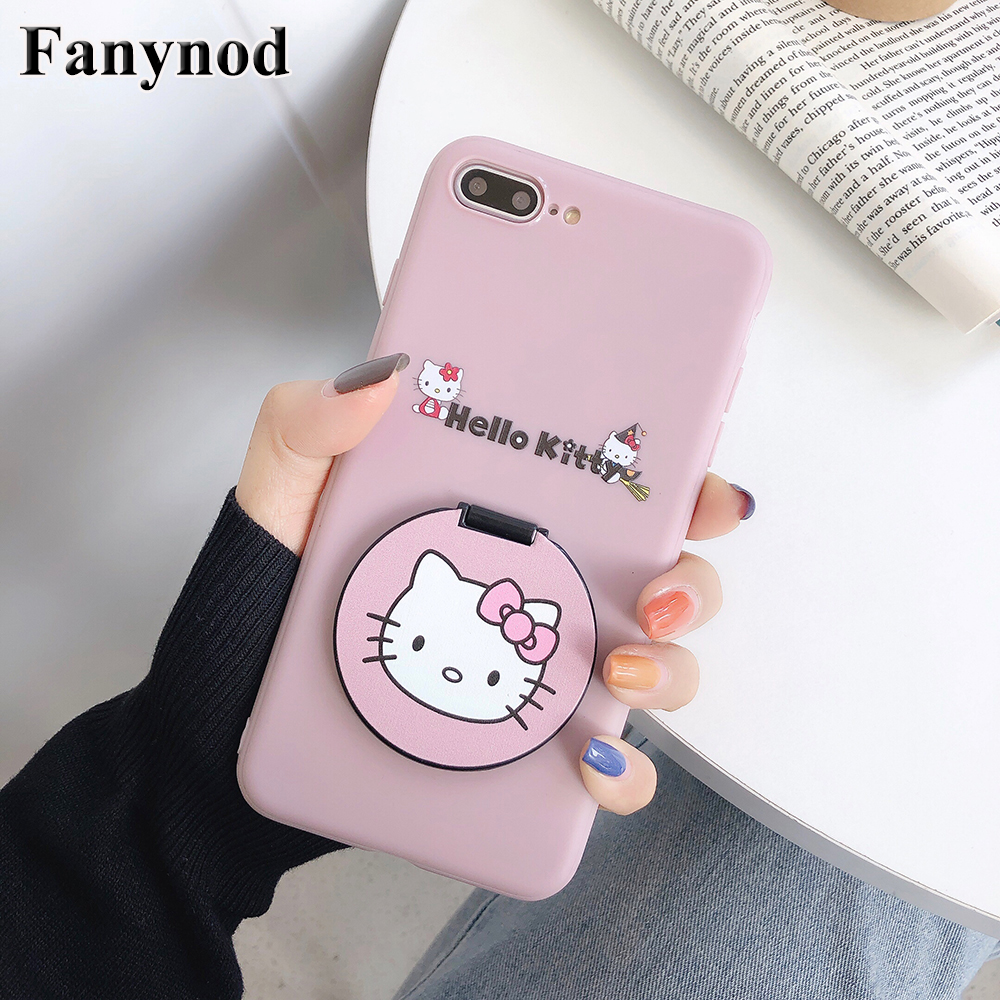 For <font><b>iPhone</b></font> 11 <font><b>Case</b></font> <font><b>Makeup</b></font> Mirror Phone <font><b>Case</b></font> & Screen Protector For <font><b>iPhone</b></font> 11 Pro Max XR XS Max Cute Luxury Protective Back Cover image