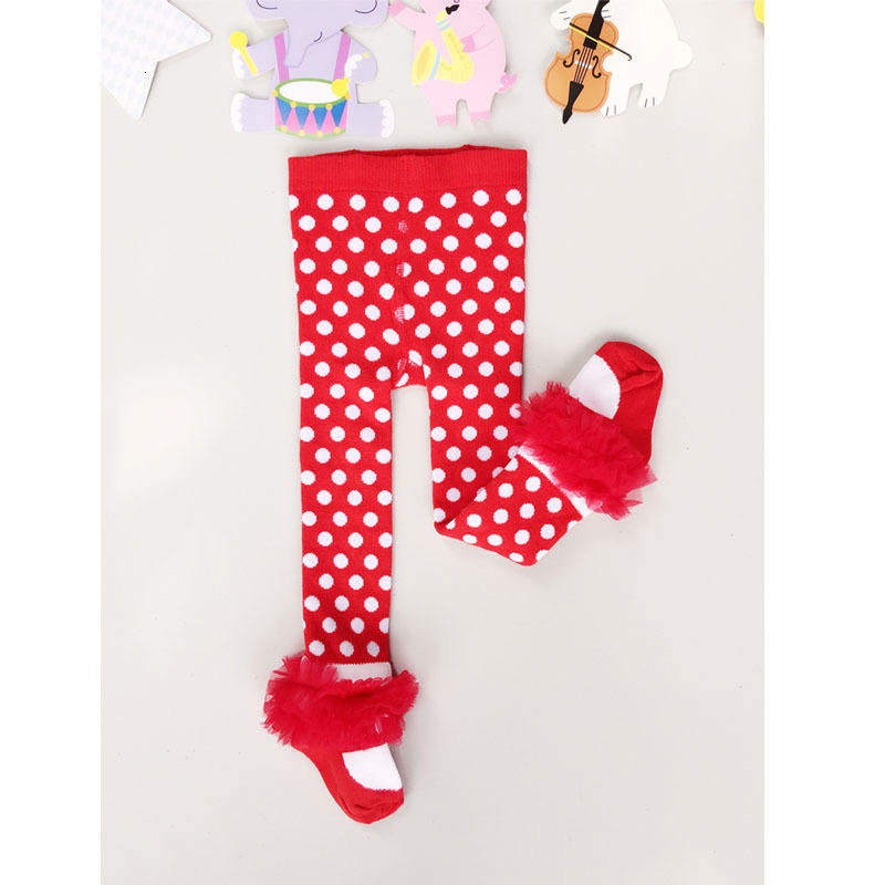 Fashion Princess Kids Tights Toddler Child Pantyhose Christmas Clothes GirlsTights Winter Baby Stockings Xmas Baby Girl Tights