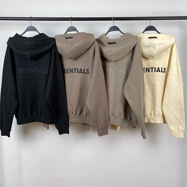 2021FW Own Design New Hoodies Rubber Letter Print Sweatshirts Loose Ovesized Cotton Street Fashion Men Hoodies