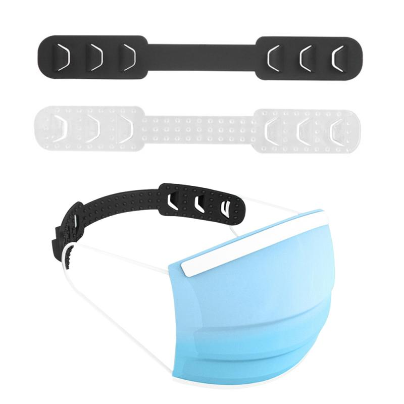 Mutifunctional Hook Adjustable Face Mask Hook Ear Buckle Ear Rope Lanyard Extension Buckle Anti-dust Mask TPU Extension Buckle