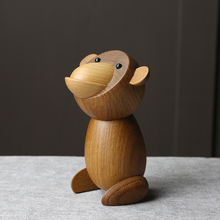Pure Hand-made Monkey Puppets Office Furnishings Decorative Crafts Singles Day Gift