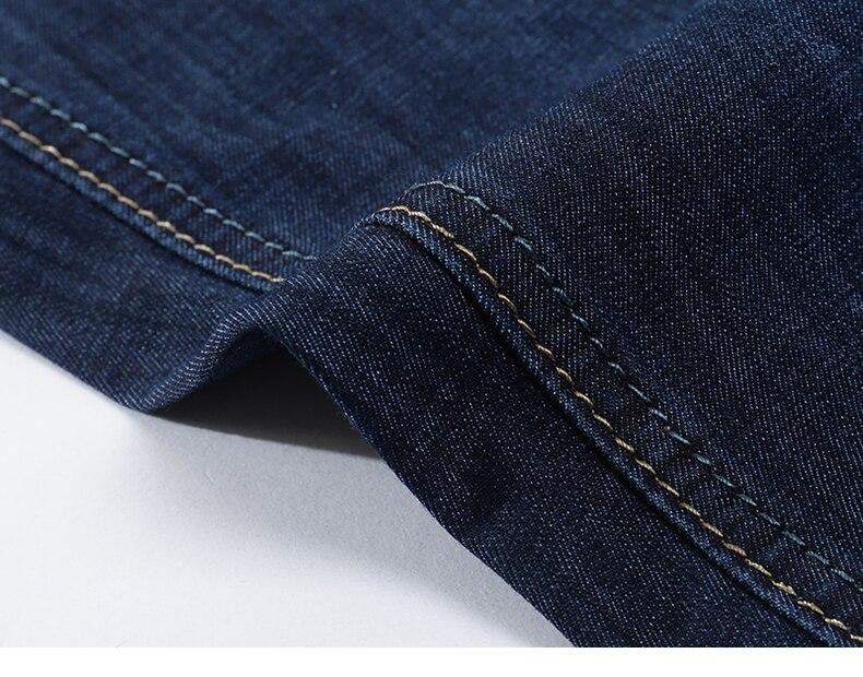KSTUN Jeans Men Shorts Dark Blue Ultrathin Stretch Business Casual Straight Regular Fit Male Denim Short Pants Mens Shorts Homme 17